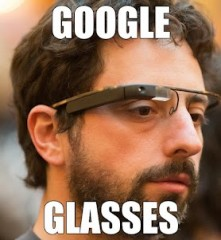 SERGEY BRIN COL PARACADUTE PROVARE GOOGLE GLASSES - Video